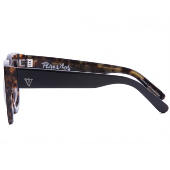 Valley, PARASITOS - Gloss BLK with Internal Tort / BLK Lens