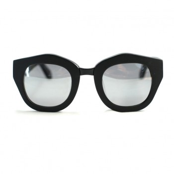 Valley, SEPTUM - Matte BLK / Silver Mirror Lens