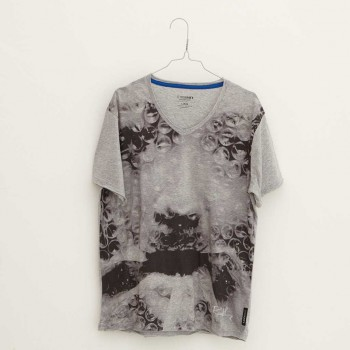 Oliver Rath ''Oxygen Asphyxation''  Herren V-Neck, All over Print