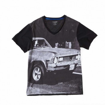 Oliver Rath ''They see me Rollin''   Herren V-Neck, All over Print