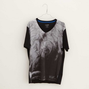 Oliver Rath ''Zweisam''  Herren V-Neck, All over Print