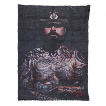 ''My Soldier - Vic'' by Frank Dursthoff, Scarf/Turban/Pareo/Sarong