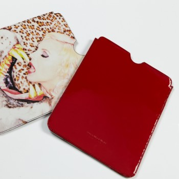 ''Zirkusliebe''  by Oliver Rath,  iPad Sleeve Limited Edition Red