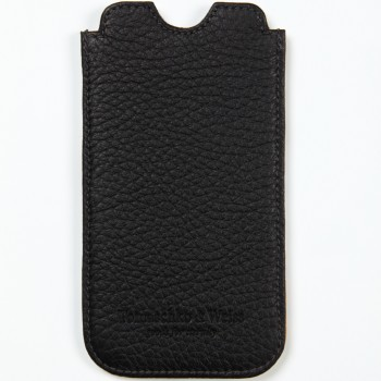''Schrittsparen'' by Oliver Rath, iPhone sleeve