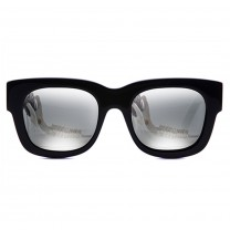 Valley, PARASITOS - Matte BLK / Silver Mirror Lens