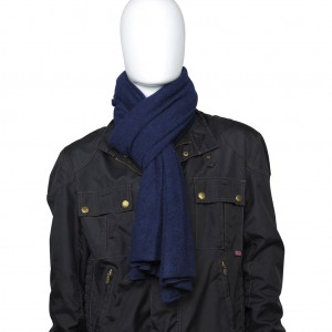 Cashmere Schal, extra fein, Col. INK WELL, Size: XL,, 100 % Todd & Duncan Cashmere