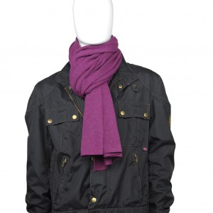 Cashmere Schal, extra fein, Col. SLOE, Size: XL, 100 % Todd & Duncan Cashmere