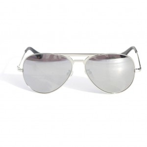 Valley, MANUBRIUM - Silver metal / Silver Mirror Lens