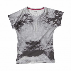 Oliver Rath, ''Oxygen Asphyxiation''   Damen Round-Neck, All over Print