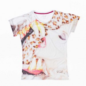 Oliver Rath, ''Zirkusliebe''   Damen Round-Neck, All over Print