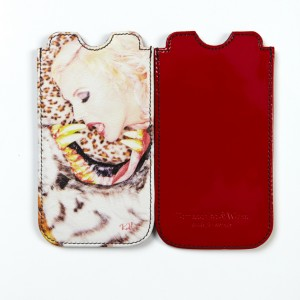 ''Zirkusliebe'' by Oliver Rath, iPhone sleeve Limited Edition RED